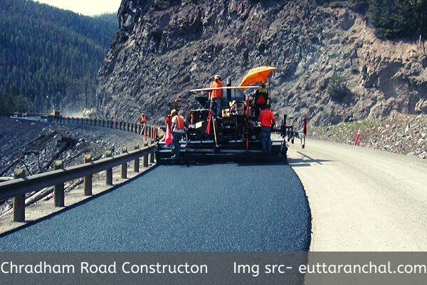 Road Construction in Mountain
