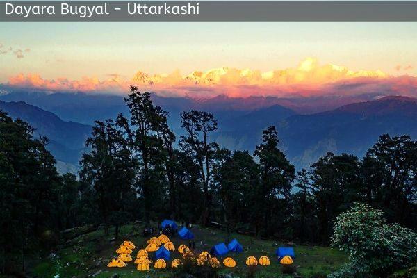 dayara bugyal trek tourist place near gangotri
