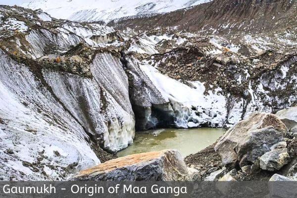 gaumukh origin of maa ganga
