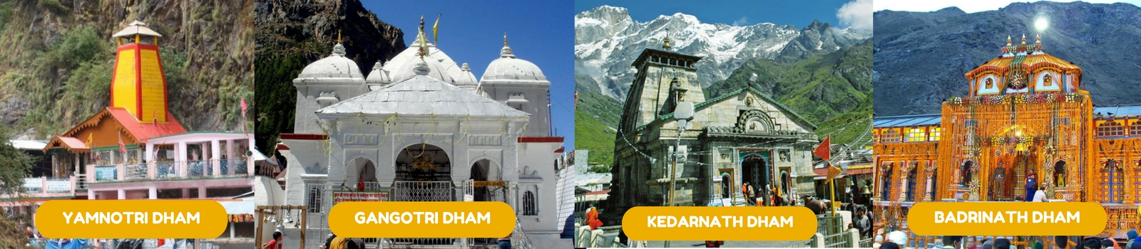 CHAR DHAM YATRA PACKAGE 2018