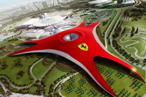 Dubai Ferrari World Holiday