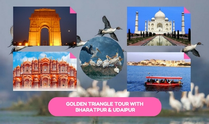 Golden Triangle Tour India with Udaipur