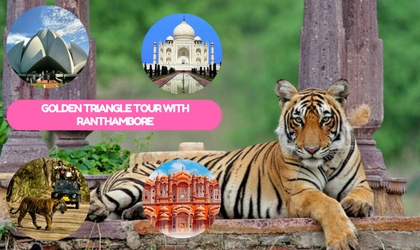 Golden Triangle Tour with Bharatpur & Ranthambore