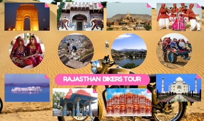 Rajasthan Biker Tour Package from Delhi