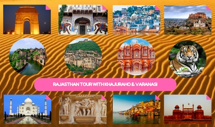 Rajasthan Tour with Khajuraho & Varanasi
